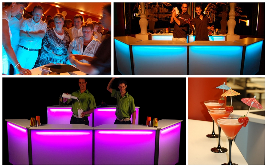 Magic Led Cocktailbar