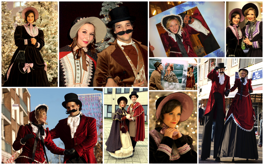 Charles Dickens Personages - (Kerst Act)