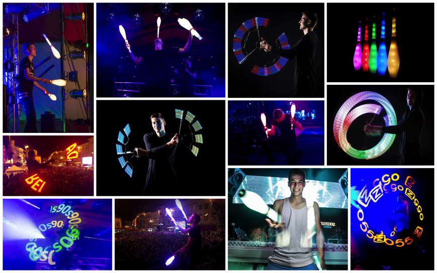 LED Jongleur - (LED Entertainment)