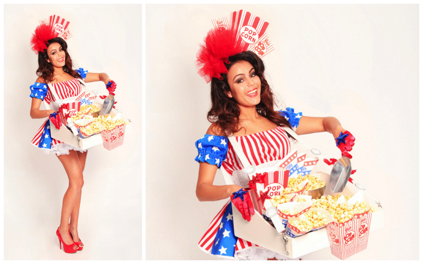 Popcorn USA Girls - (Modellen E41)