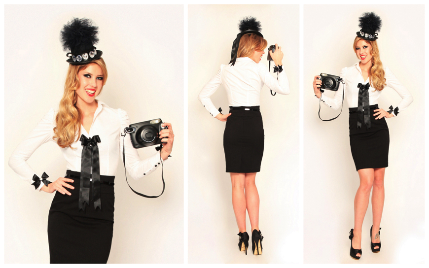 Hostess - Lady Black en White - (Modellen H18)