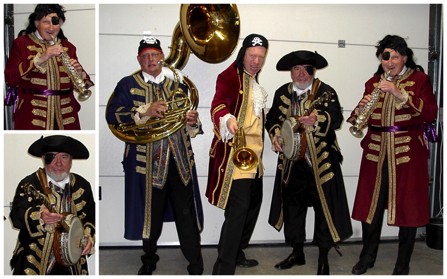 Piraten Dixieland Looporkest (J44)
