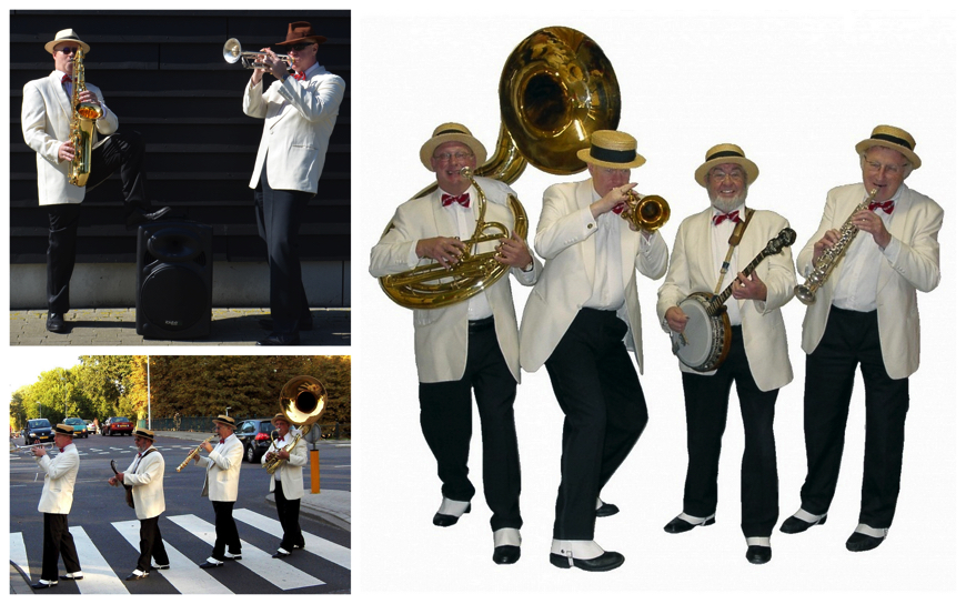 Witte Smoking Dixieland Looporkest (J53)