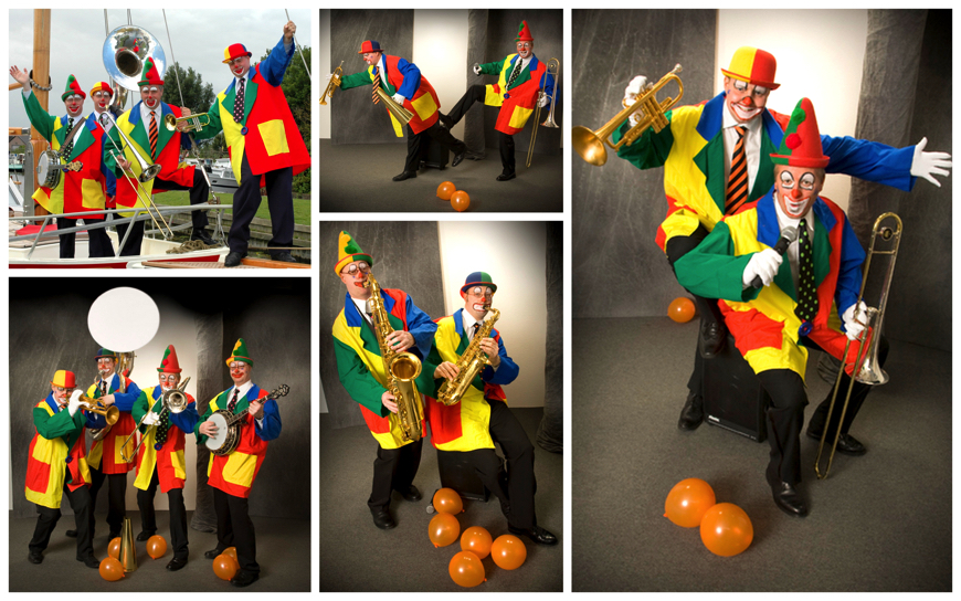 Clowns Dixieland Looporkest  - (Muzikale Act M04)