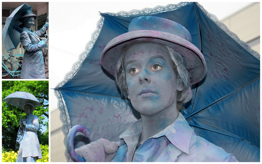 Mary Poppins - (Levend Standbeeld)