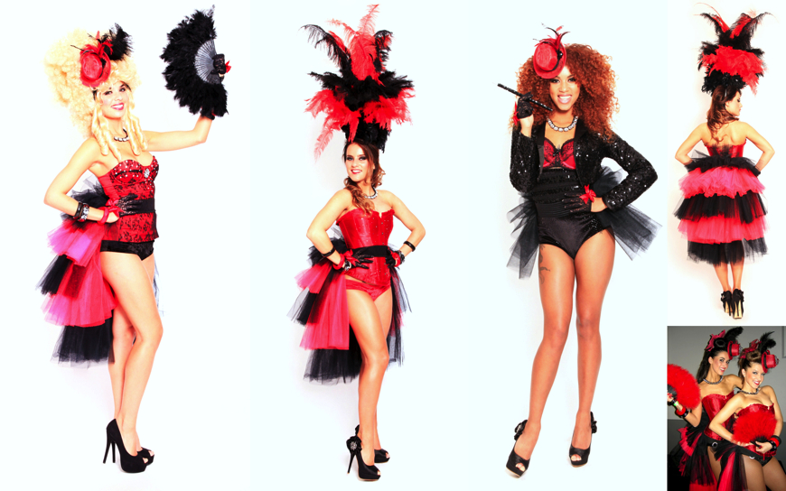Moulin Rouge Girls (Modellen S44,S19,S12)