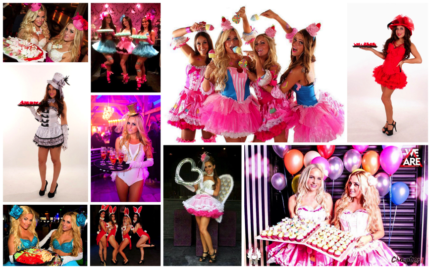 Party Candy Girls - (Modellen)