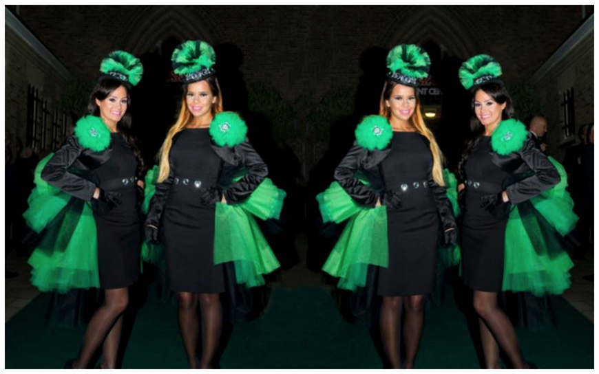 Black and Green Girls - (Modellen S115)