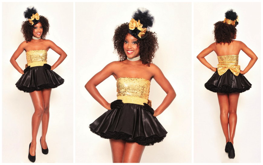 Golden Black Girls - (Modellen S46)