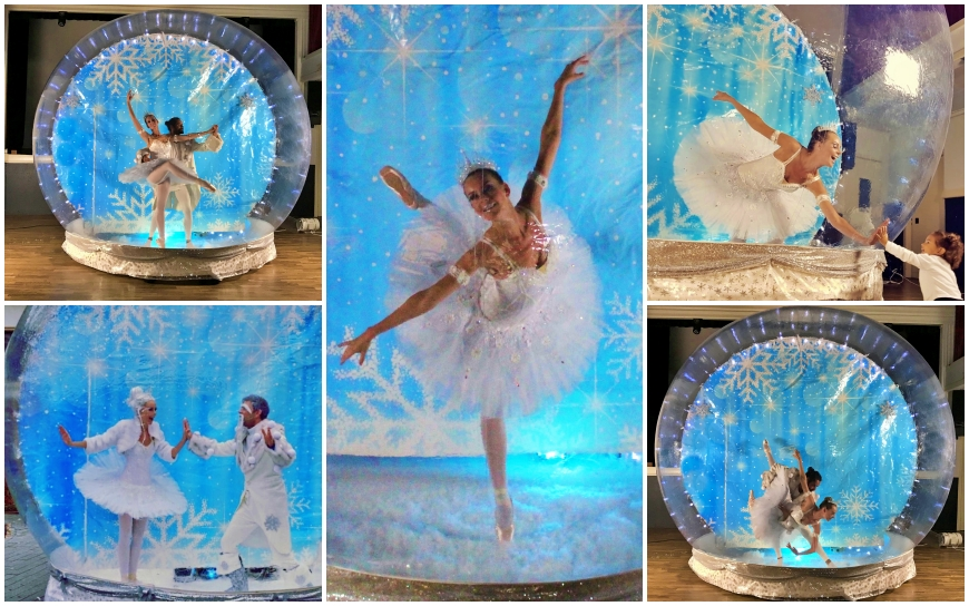Ballerina In Bubbel (Dans Entertainment)