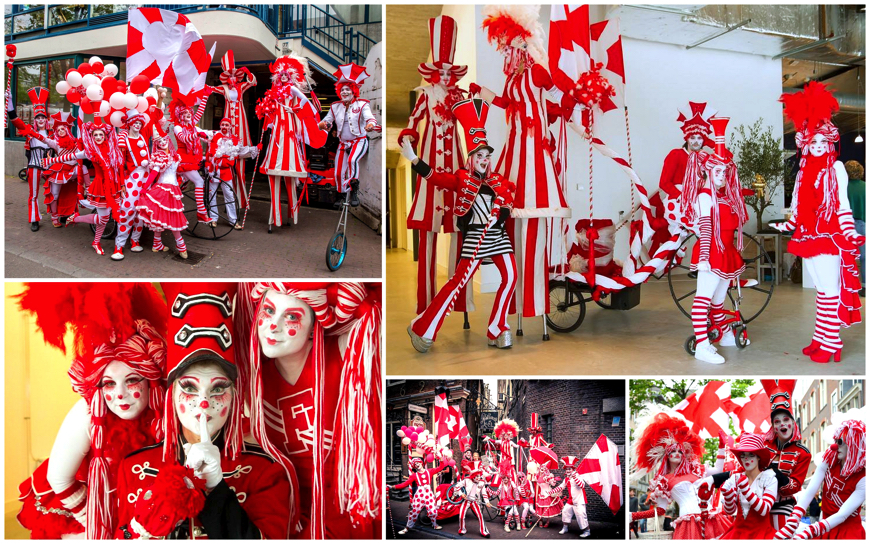 Rood-Witte Bonte Parade