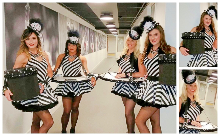 Game Girls Black & White - (Modellen D21)