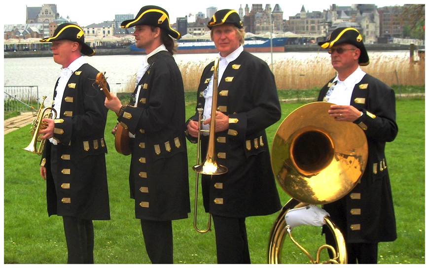 Ceremonieel Dixieland Looporkest (J09)