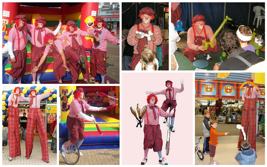 Circus Clowns - (Kinder Entertainment)