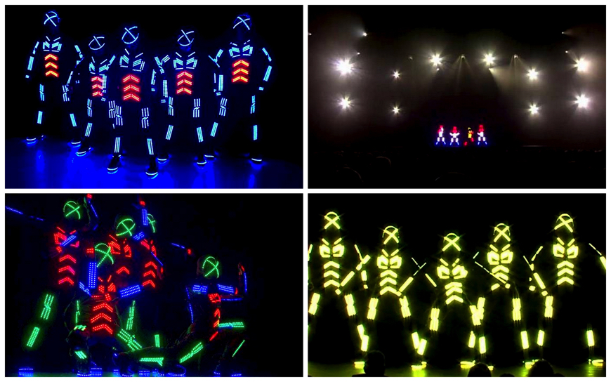 Led Dance Act - (Podium act)