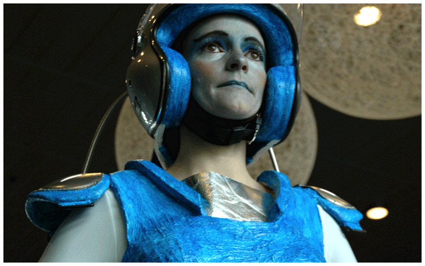 Robot Dame - (Levend Beeld / Mobiele Act)