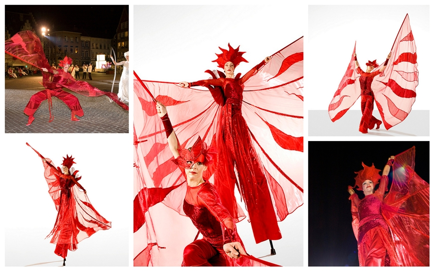Red Queens - (Steltenloper + Danseres)